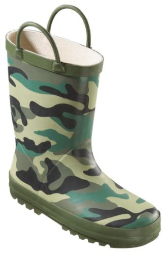 Youth Rubber Boots, Camouflage Product image