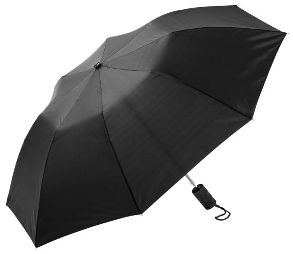 Newport Rain Gear Automatic Folding Umbrella, 42-in, Black Product image