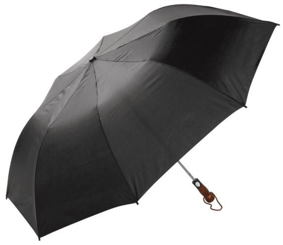 Newport Rain Gear Automatic Folding 2-Person Umbrella, 52-in, Black Product image
