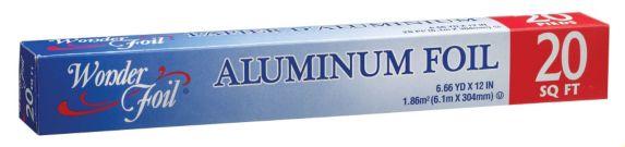 Wonder Foil Aluminum Wrap, 20-ft Product image