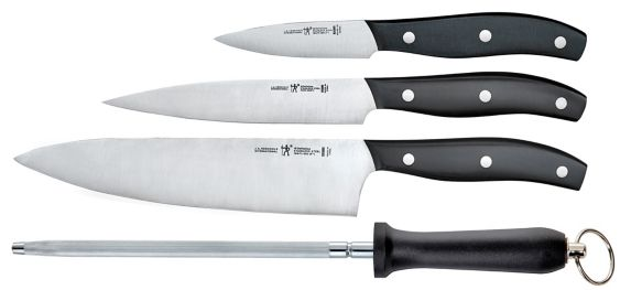 Henckels Fine Edge Solution Knife Set with Bonus Sharpening Steel, 4-pc Product image