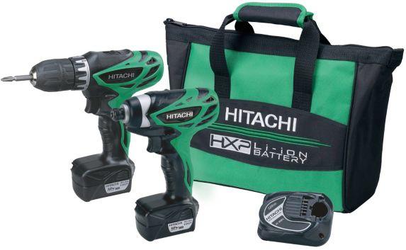 Hitachi 12V Lithium-Ion 2-Tool Cordless Combo Kit Product image