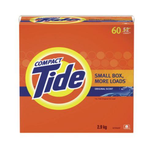 Détergent Tide en poudre parfumé, 60 brassées Image de l'article