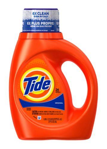 Détergent à lessive liquide Tide Original, 24 brassées Image de l'article