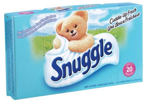 Snuggle Fabric Softener Dryer Sheets, 20-pk Product image