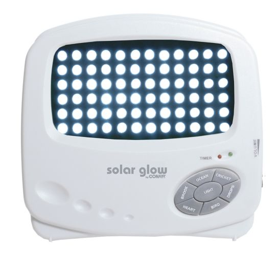 Solar Glow Light & Sound Therapy System Product image