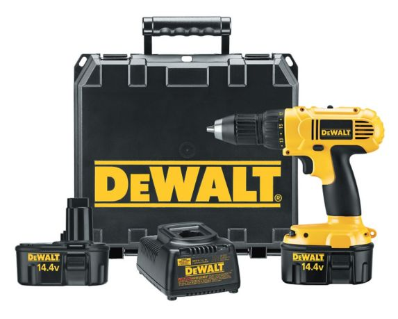 DEWALT 144V NiCad Cordless Drill/Driver, 1/2-in Product image