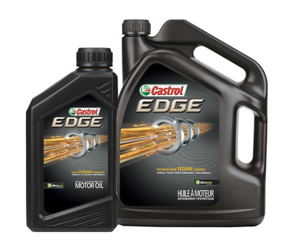Castrol EDGE Synthetic MotorOil,4.4-L Jug + 1-L Bottle Product image