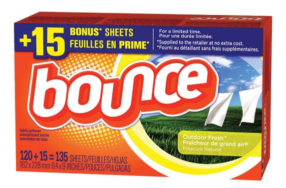 Bounce Outdoor Fresh Fabric Softener Dryer Sheets, 135-pc Product image