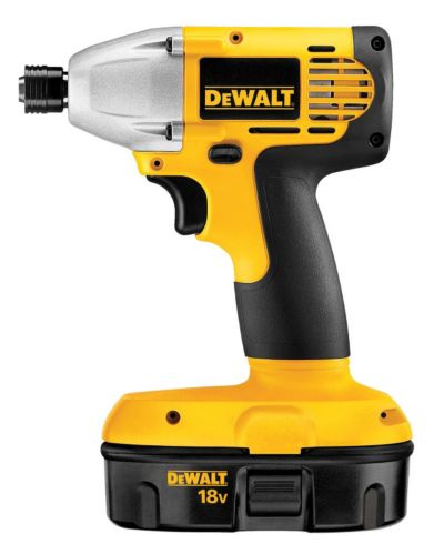 DEWALT18V NiCad Cordless Compact Impact Driver, 1/4-in Product image