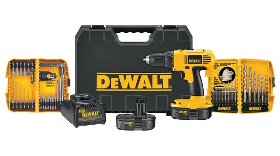 DEWALT 18V NiCad Cordless Drill/Driver, 1/2-in Product image