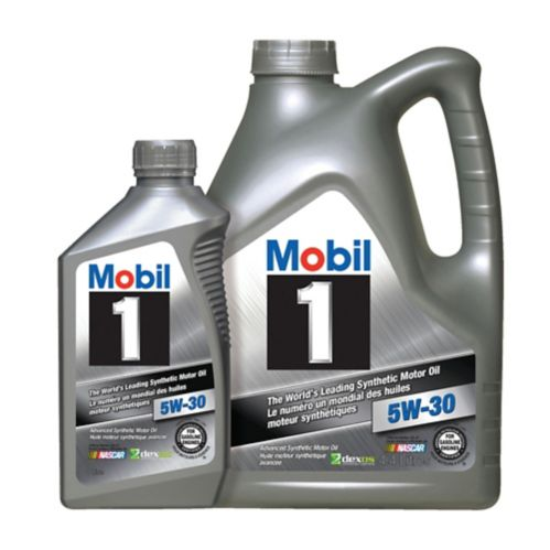 Mobil 1 Synthetic Motor Oil, 4.4L + 1L Bonus Product image