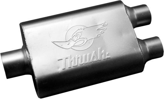 Thrush Universal Welded Muffler, 17661 Product image