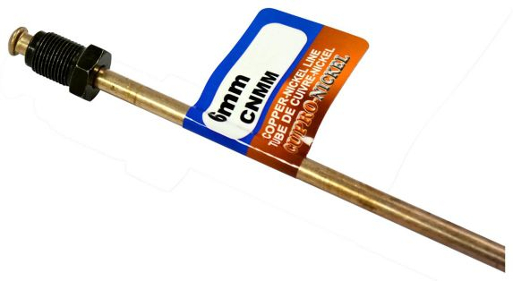 H. Paulin CNMM340 Copper Nickel Brake Line, GM/Domestic/Import, 6-mm x 40-in Product image