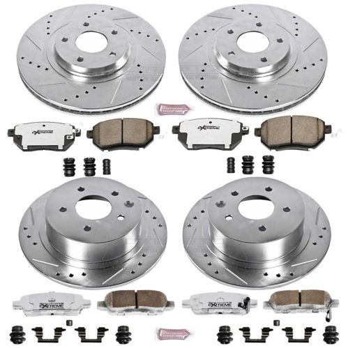 Power Stop Z26 Street Warrior High Performance Brake Kit - Front & Rear Product image