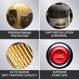 FRAM Tough Guard Oil Filter | FRAMnull