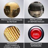FRAM Tough Guard Oil Filter   FRAMnull