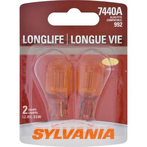Ampoules miniatures de longue durée 7440A Amber Sylvania Image de l'article