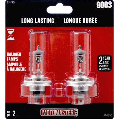 9003 MotoMaster Long Lasting Halogen Bulbs, 2-pk Product image
