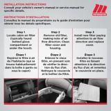 Filtre à air d'habitacle MotoMaster | MotoMasternull