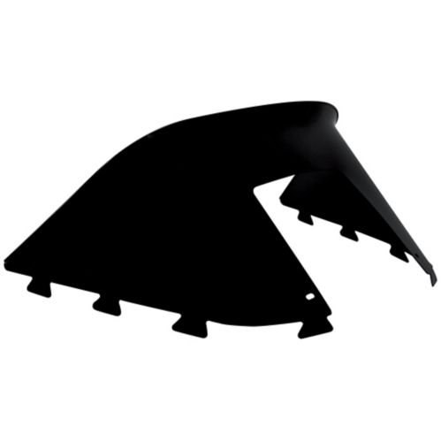 Kimpex Front Snowmobile Windshield, Black Product image