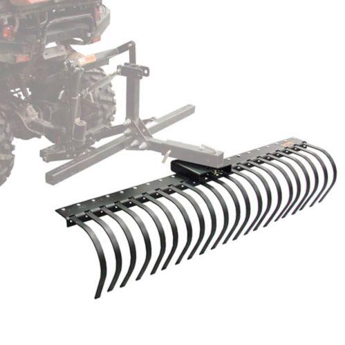 Kolpin ATV/UTV Dirtworks Landscape Rake Tool Attachment, 60-in Product image