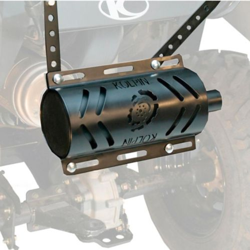 Kolpin Universal Stealth Exhaust 2.0 System with Heat Shield Product image