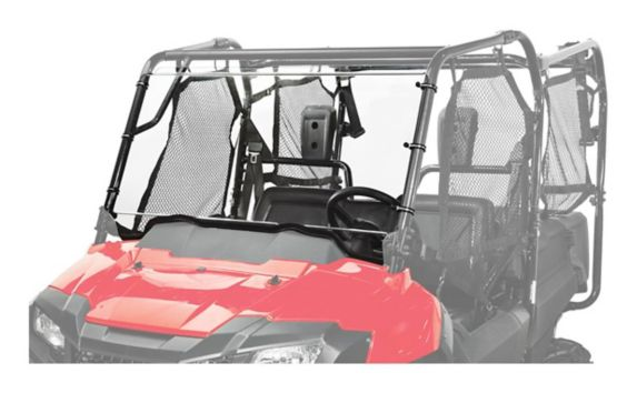 Kolpin UTV Windshield Full-Fixed for Honda® Pioneer® 700 2-Pass/4-Pass