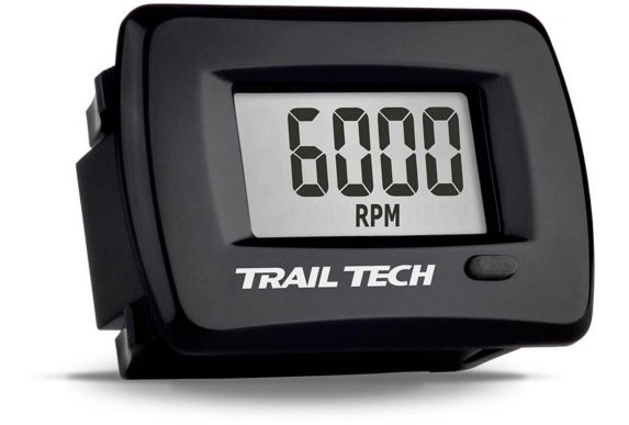 Trail Tech TTO Digital Tach/Hour Gauge Panel Mount Product image