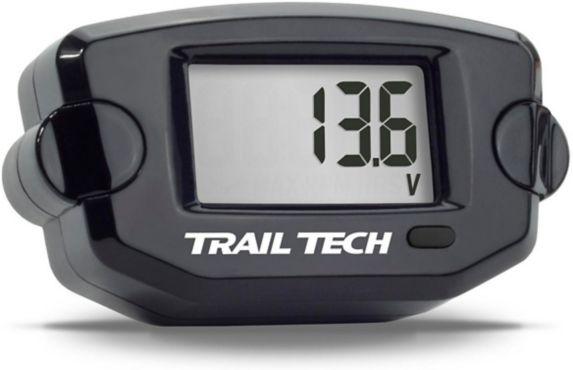 Jauge de tension TTO avec montage en surface Trail Tech, noir Image de l'article