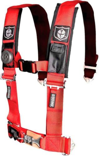 Kolpin Pro Armor UTV 4-Point Harness with Sewn-In Pads, Red, 2-in Product image