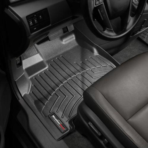 WeatherTech® Custom Front FloorLiner™, Black Product image