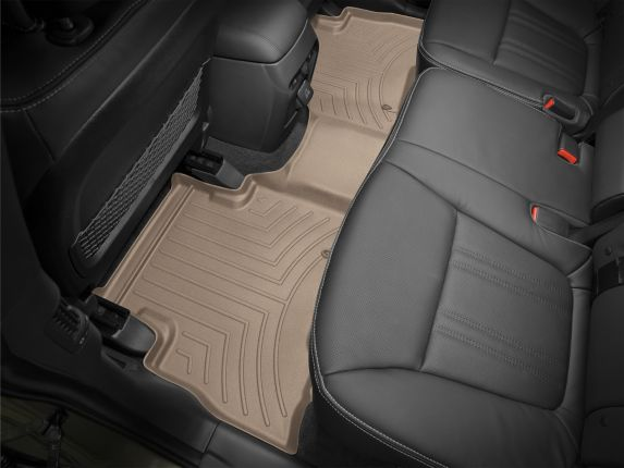 WeatherTech® Custom Rear FloorLiner™, Tan Product image