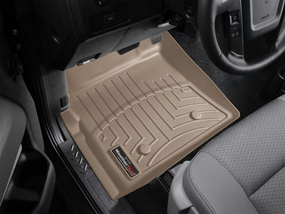 WeatherTech® Custom Front FloorLiner™, Tan Product image
