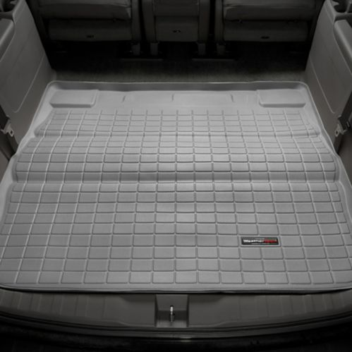 WeatherTech® Custom Cargo Liner, Behind 2nd Row Seating, Grey Product image