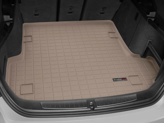 WeatherTech® Custom Cargo Liner, Behind 2nd Row Seating, Tan Product image