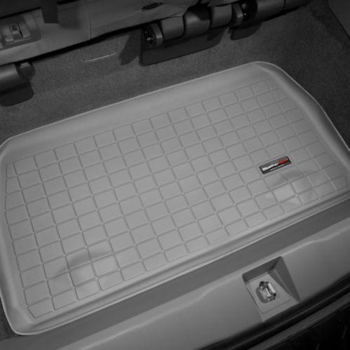 Doublure caisse coffre WeatherTech, arrière 3e rangée, gris Image de l'article