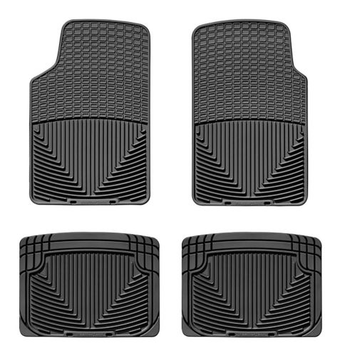 WeatherTech® All-Weather Floor Mat Set, Front & Rear, Black Product image