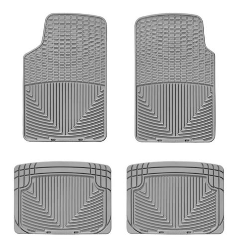 WeatherTech® All-Weather Floor Mat Set, Front & Rear, Grey Product image