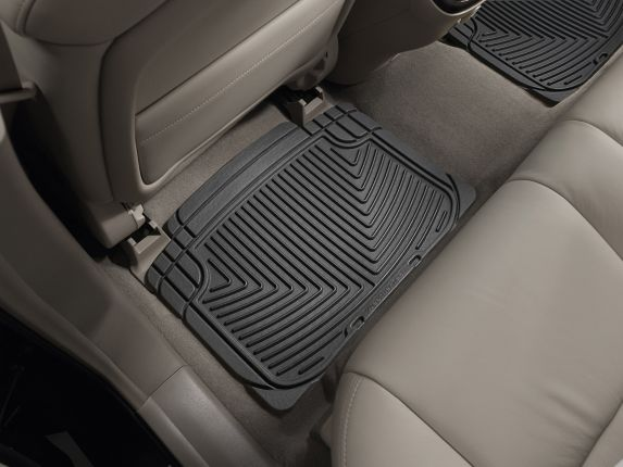 WeatherTech® All-Weather Floor Mats, Rear, Black Product image