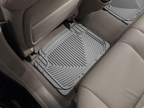 WeatherTech® All-Weather Floor Mats, Rear, Grey