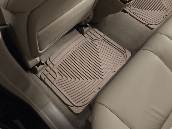 WeatherTech® All-Weather Floor Mats, Rear, Tan Product image