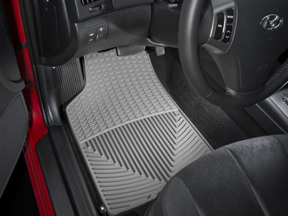 WeatherTech® All-Weather Mats, Front, Grey Product image