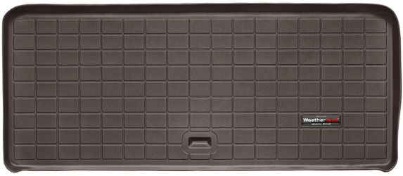 WeatherTech® Custom Cargo Liner, Behind 3rd Row Seating, Cocoa
