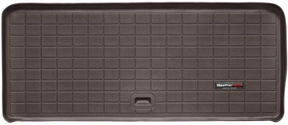 Doublure caisse/coffre/3e rangée arrière WeatherTech personnalisée, cacao