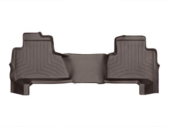 WeatherTech® Custom Rear FloorLiner™, Cocoa Product image