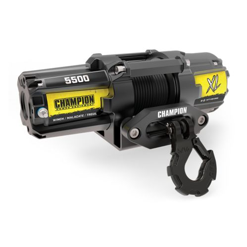Champion Synthetic Rope XL Winch, 5500-lb Product image