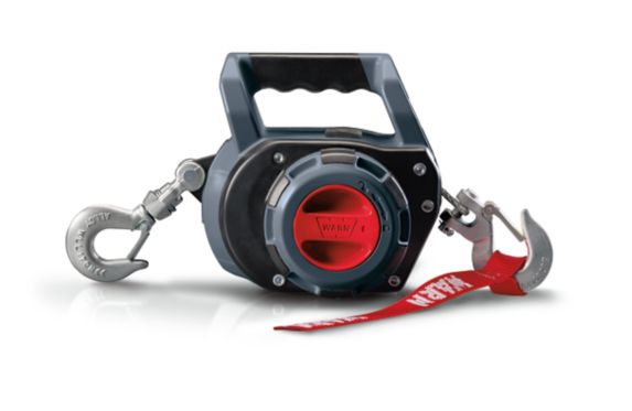Warn Synthetic Rope Drill Winch, 750-lb Product image
