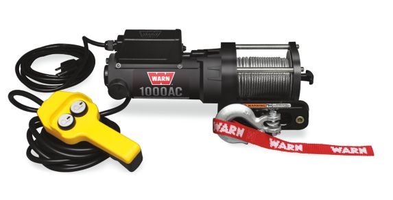 Warn AC 120V Electric Winch, 1,000-lb Product image