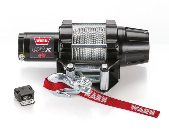 Treuil à câble en acier VRX 35 Warn, 3500 lb Image de l'article